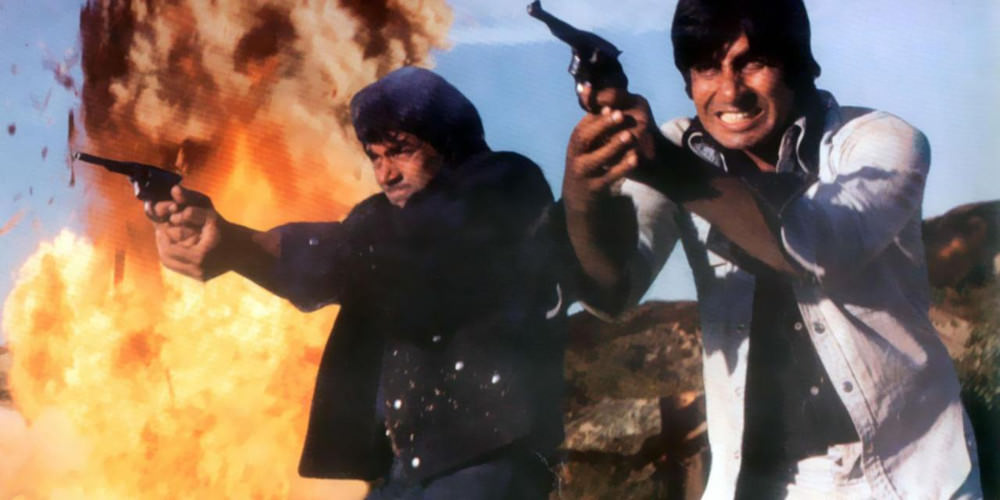 Amitabh Bachchan and Sholay